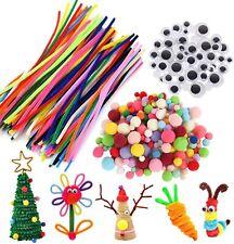 Pipe Cleaners Multicolor Chenille Stems 450pcs Set Include 100pcs Chenille Stems