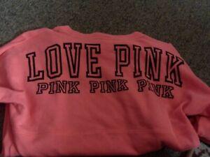 Victoria Secret Pink XS Lightweight Sweatshirt