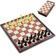 Tablero de ajedrez Magnético Portable clásico juego de tablero de ajedrez Juego De Madera Plegable Efecto