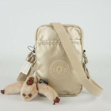 KIPLING TALLY Phone Travel Crossbody Bag Starry Gold Metallic