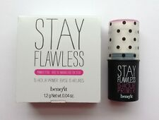 benefit STAY FLAWLESS 15-Hour Primer, 0.04 oz, Mini, Boxed & FABULOUS!