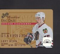 1995-96 Leaf Studio Rookies Hockey Cards Pick From List