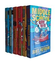 Middle School Madness James Patterson 6 Books Kids Children Get Me Out Here NEW