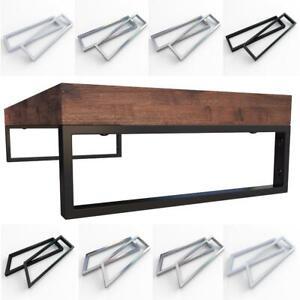 2 x Edelstahl Konsolenträger Waschtischkonsole Wandhalterung f. Waschtischplatte