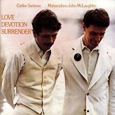 Carlos Santana Love devotion surrender (1973, & Mahavishnu John McLaughlin) [CD]