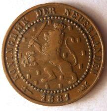 1881 NETHERLANDS CENT - Free Ship - Premium Vintage Bin #1