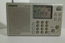 Sangean Model ATS 404 AM FM SW MW Portable Radio
