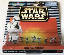 NEW Star Wars Micro Machines Rebel Fleet Troopers 66080 Galoob 1996