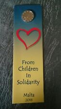 2 euro commémorative Malte 2016 BU -  From Children in Solidarity