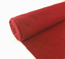 5 Yards Red Upholstery Durable Un-Backed Automotive Trim Carpet 40