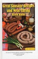 Great Sausage Recipes and Meat Curing by Rytek Kutas (1987, Hardcover)