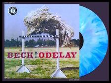 BECK Odelay LP on BLUE VINYL Bong Load SEALED Vinyl NUMBERED colored
