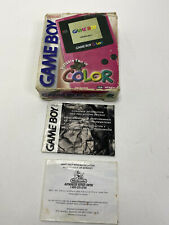 Nintendo Game Boy Color Berry Res Handheld Console BOX ONLY 1999 vintage