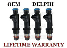 Set of 4 Genuine Delphi Fuel Injectors For 2004-2005-2006-2007 GMC Canyon 2.8L 2