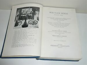 WIN YOUR WINGS BOOK ONE WW2 PILOTS MANUAL  BY COLONEL ROSCOE TURNER DATED 1943