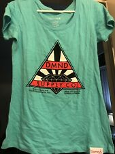 Zumiez Diamond Supply Co. Turquoise/aqua Shirt, Large/male/female