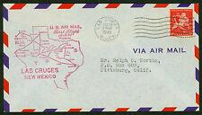 1948 FIRST FLIGHT AM 64 LAS CRUCES, NM TO EL PASO, TX - C38 FRANKING  (ESP#1822)