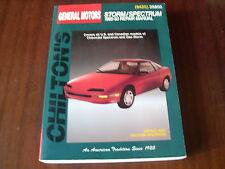 Reparaturanleitung Chevrolet Geo Storm / Spectrum ,ab 1985 - 1993