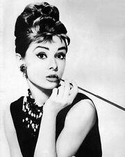 1961 Movie Film Actress AUDREY HEPBURN Glossy 8x10 Photo Breakfast at Tiffany's