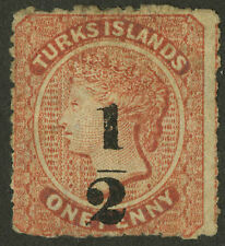 Turks Islands  1881  Scott #11   USED