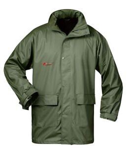 Regenjacke Regenbekleidung Norway oliv 26403 atmungsaktiv wasserdicht