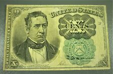 1874-1876 5th Issue 10¢ Fractional Currency Meredith Fr1264
