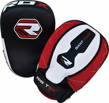 Rdx Mma Boxing Focus Pads Hook and Jab Mitts Thai Kick Pads Curved Gloves T5R
