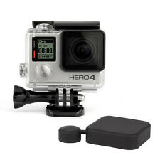 Premium SUBACQUEO IMPERMEABILE Dive Housing Case GoPro HD HERO 3 + 4 + Copriobiettivo