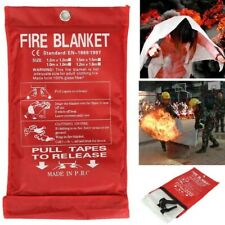 Emergency Fire Blanket Quick Release In Case For Home Office Car 1mx1mx03mm