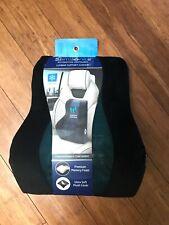 NEW Samsonite Memory Foam+Cooling Gel Lumbar Support Cushion CAR,HOME,OFFICE