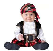 Toddler boys 12-18 months PINT SIZE PIRATE Halloween costume skull crossbones