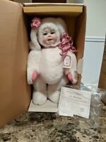 """World Gallery Janis Baby Bunny 19"""" 1985 Kais Dolls American Artists Collection"""