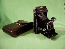 Vintage IKONTA Zeiss Ikon Carl Zeiss Jena Nr. 1112041 Tessar 1:4,5 f=8 cm w/case