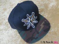 VEGAS GOLDEN KNIGHTS CAMO HAT CUSTOM BLACK VGK CAP WITH SWAROVSKI CRYSTALS