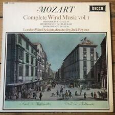 SXL 6050 Mozart Complete Wind Music Vol. 1 / Brymer W/B