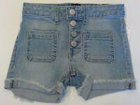 NWT GAP Girls Pull-On Denim Shorts Sz XS-XXL Light or Dark Wash Stretch #13810