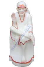 Marble Saibaba Statue sculptures shirdi Sai baba murti moorti Goddeity Idols