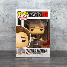 Funko Pop American Psycho Patrick Bateman with Axe #942 w/ Protector | In Stock