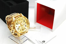 New Nixon Watch 51-30 Chrono All Gold Men's A083502 A083-502 100% genuine