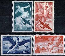 FRANCE 1946  PA  YT n° 16 à 19 neufs ★★ Luxe / MNH