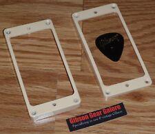 Gibson Les Paul Pickup Rings Humbucker Pink Creme Guitar Parts SG V HP R9 ES R8