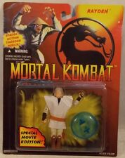 Mortal Kombat - Special Movie Edition Rayden / Raiden (Mint On Card) Hasbro 1994