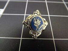 "Brand New Lapel Pin ""U.S. Navy"" Seabees Lifetime Guarantee"
