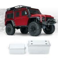 1/10 Crawler RC Car Scale Accessories Hard Metal Decorative Tool Box Set New