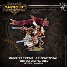 Warmachine: Protectorate of Menoth Knights Exemplar Seneschal Solo PIP 32028 NEW