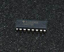 1 X (1  piece) CD4027BE  4000 CMOS, 4027, DIP16, 18V (L4144)