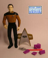 1994  Playmates Star Trek Generations Movie Commander Data Complete Figure