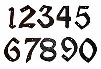 Door / House Numbers / Numerals in Black Cast Iron 98mm SPECIAL OFFER (37200-9)