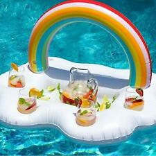 Inflatable Drink Holder Floating Beverage Bar Swimming Pool Party & Water Fun