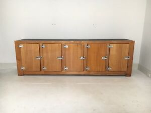 milkbar Pub Bar Kitchen fridge Wooden cabinet Counter retro vintage 60' 70's